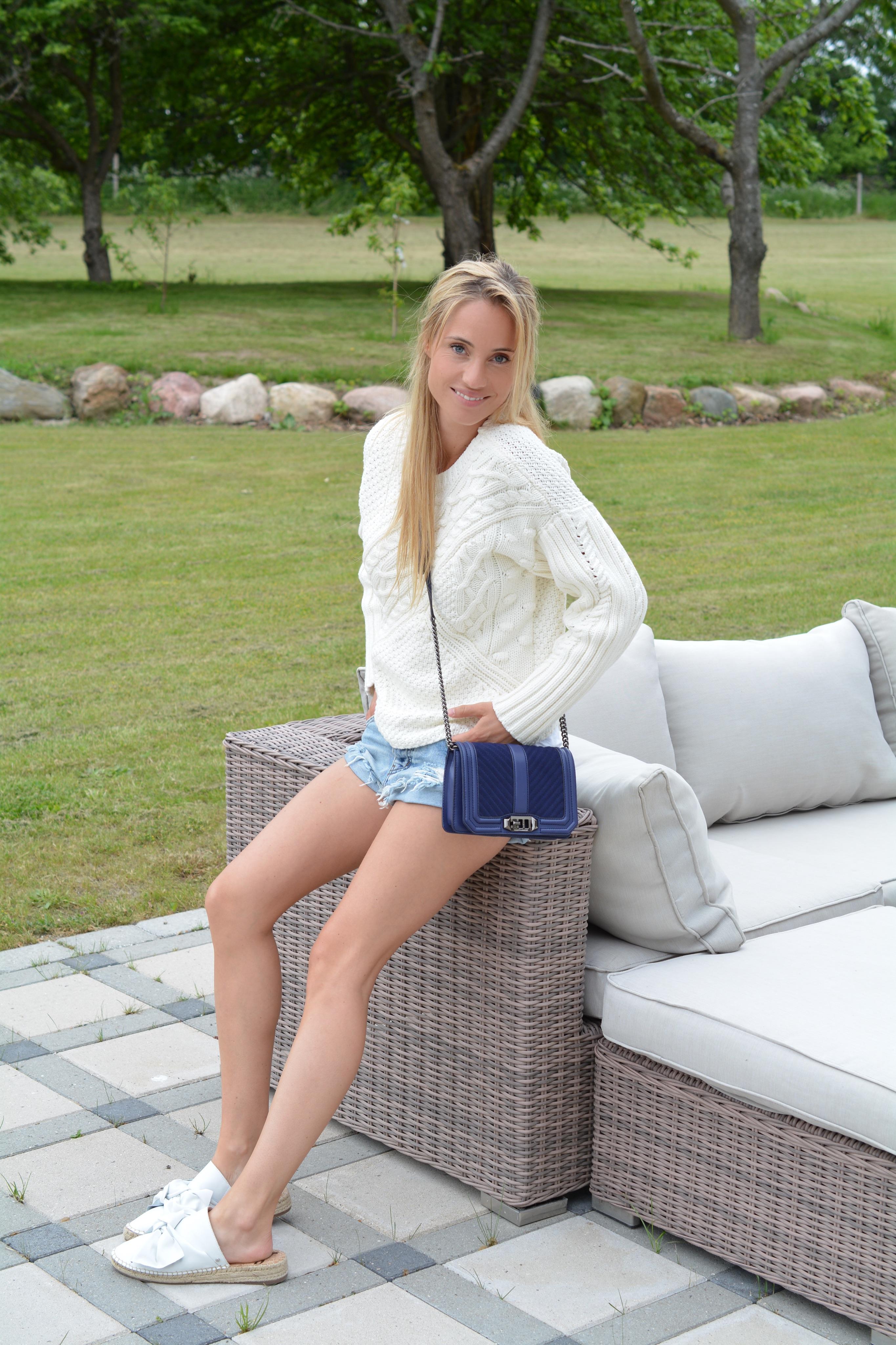 lea hvidt sommer outfit