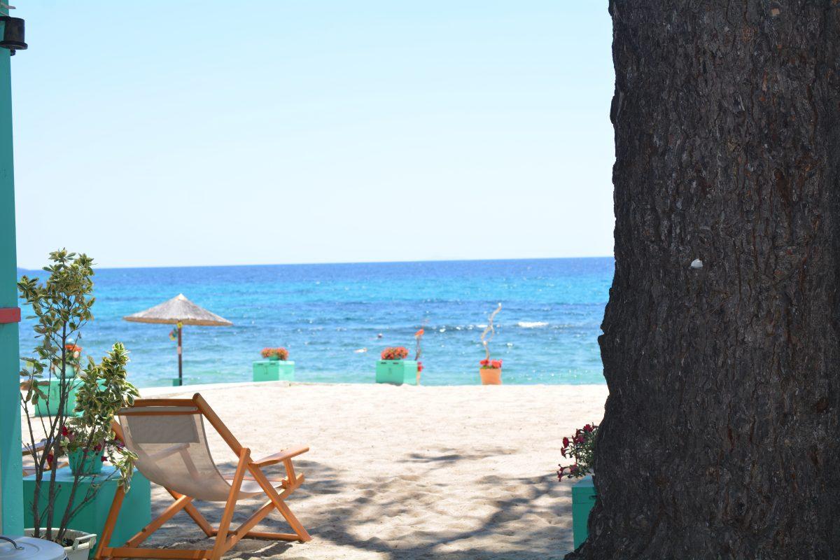 skjult strand liggestol