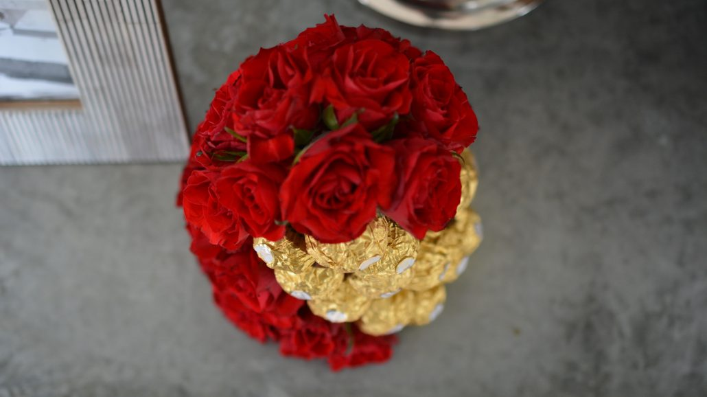 blomster fejrer bryllup