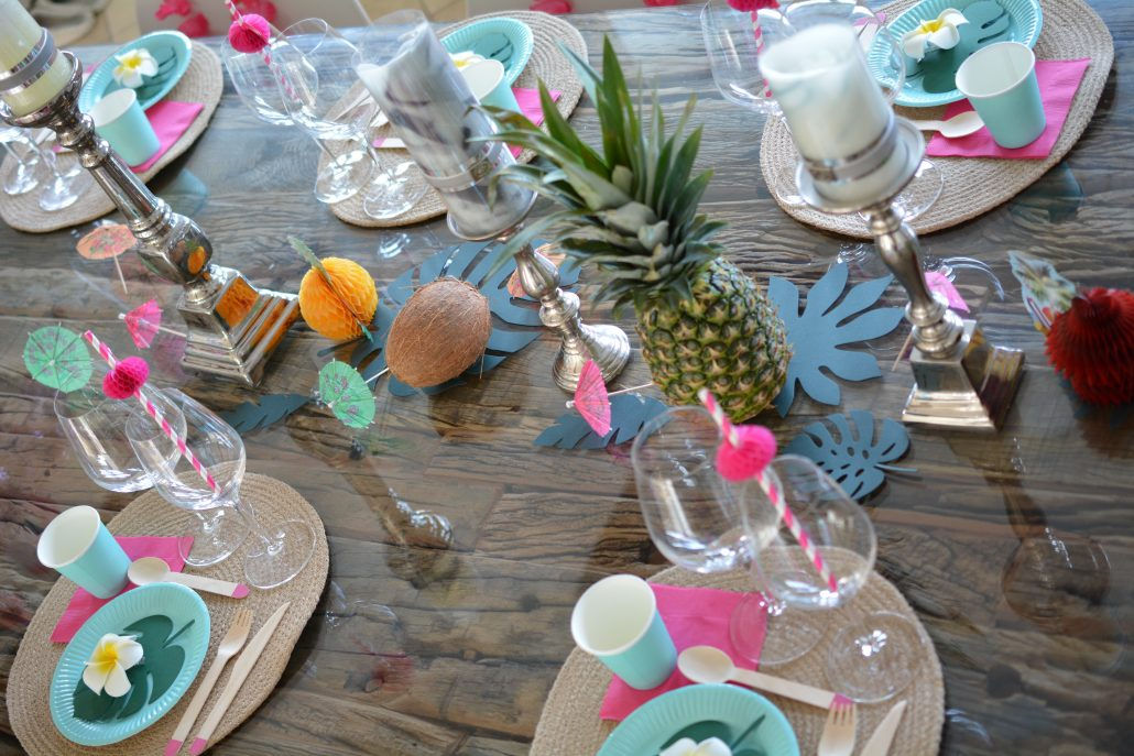 aloha party fødselsdag ananas