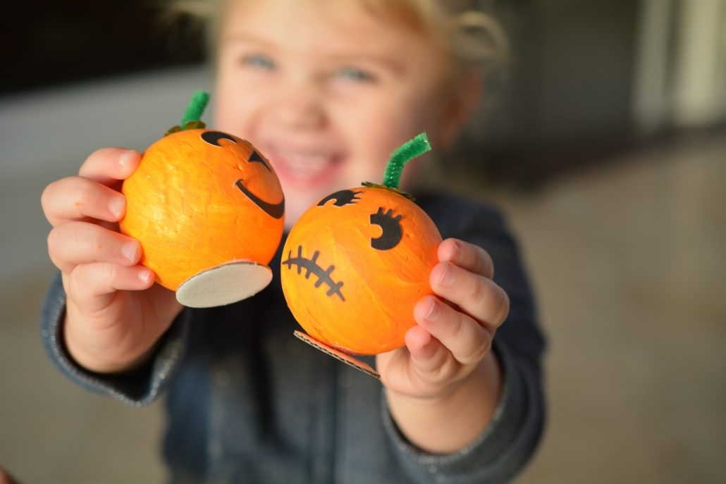 diy halloween græskar