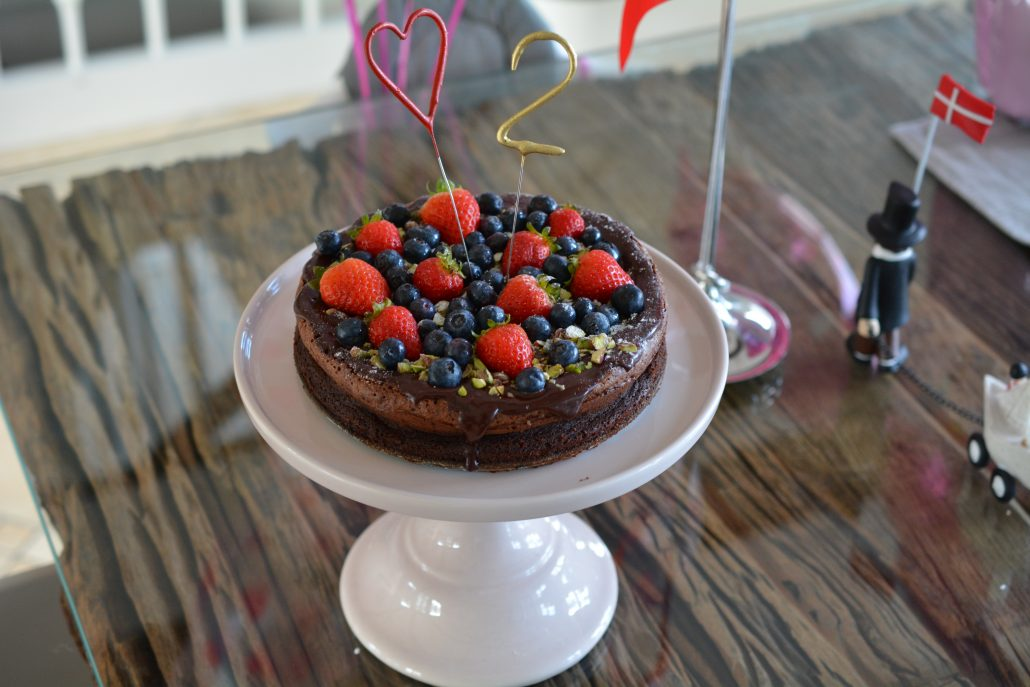 fødselsdag chokoladekage