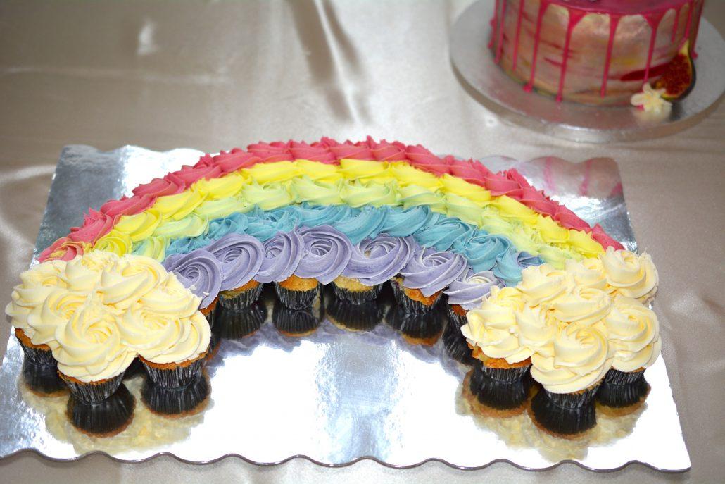 fødselsdag regnbuekage