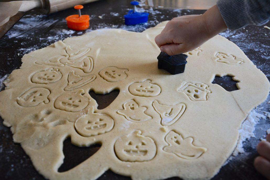 halloween cookies dej