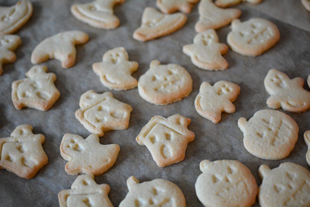 halloween vanilje cookies