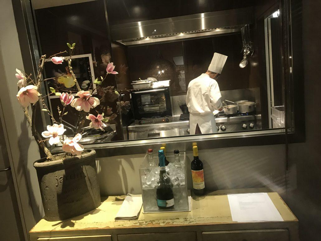 Italien middag kok