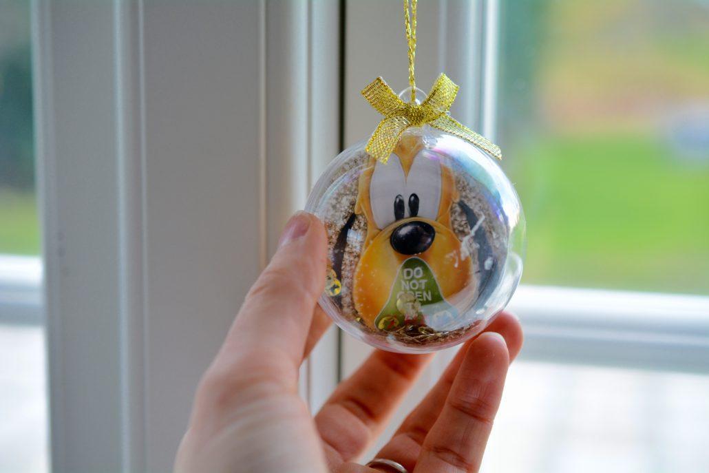 DIY disnet julekugle børnehøjde