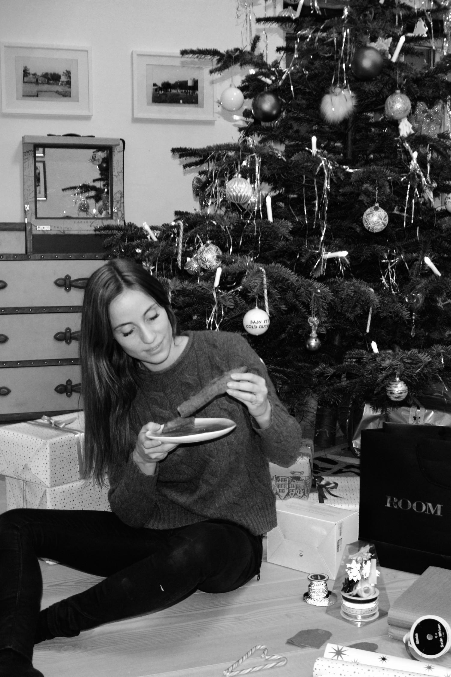 julehygge gaveindpakning klejner