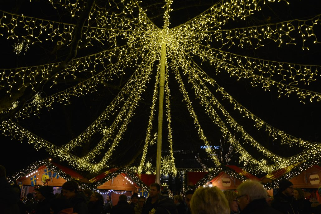 einsmuttur julemarked lys
