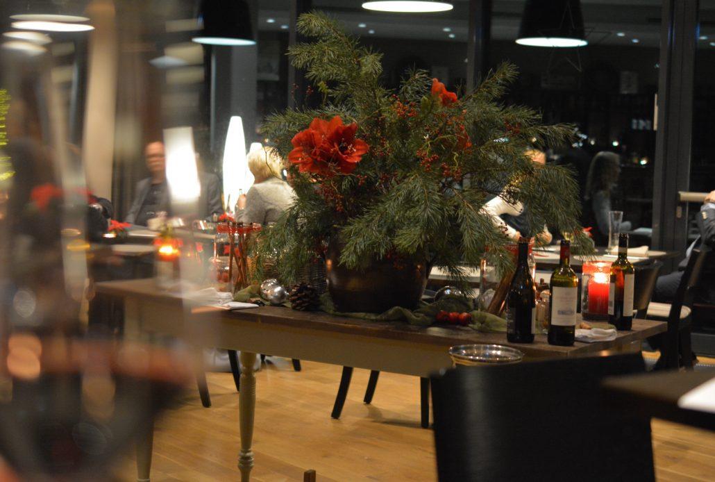 einsmuttur kiel middag romatikke hotel jul