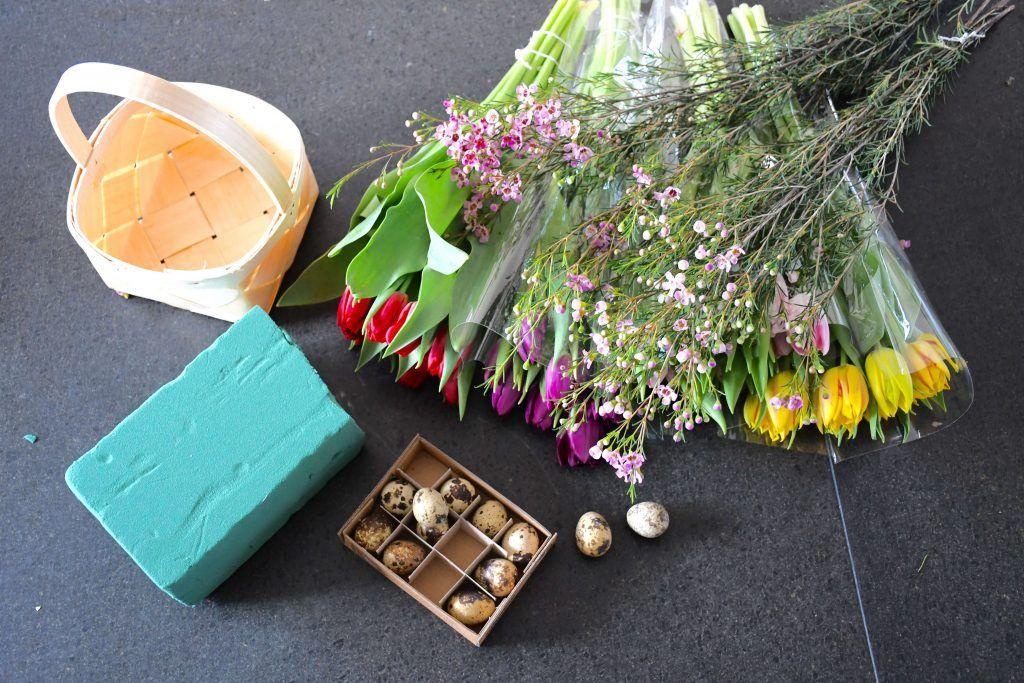påske blomsterdekoration1