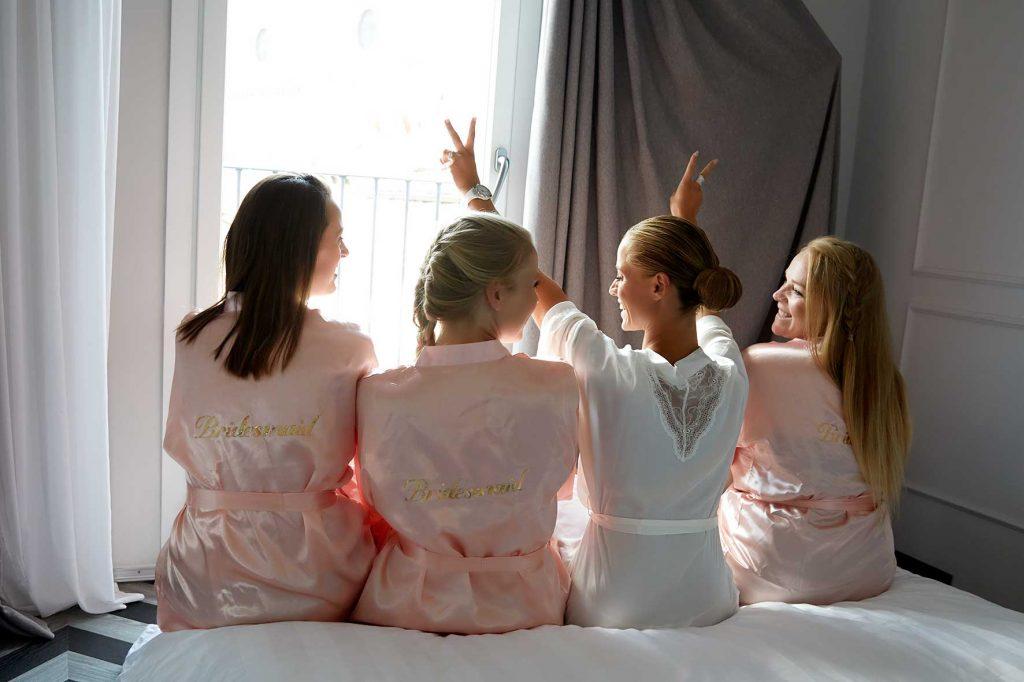 forberedelse bryllup brudepiger