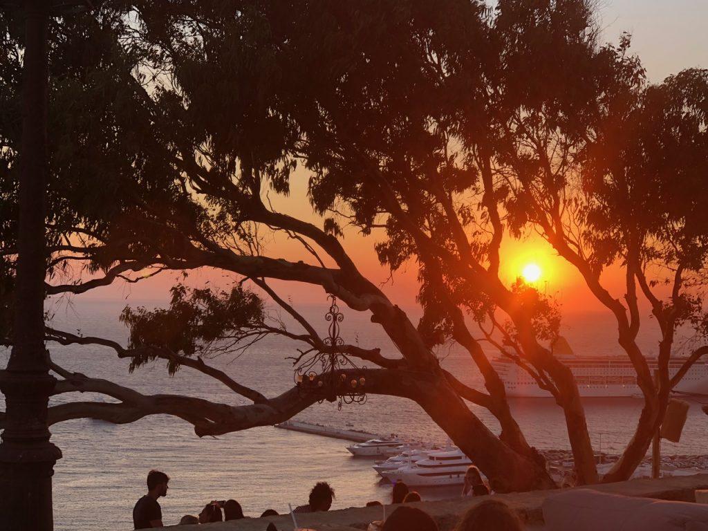 Mykonos guide sunset1