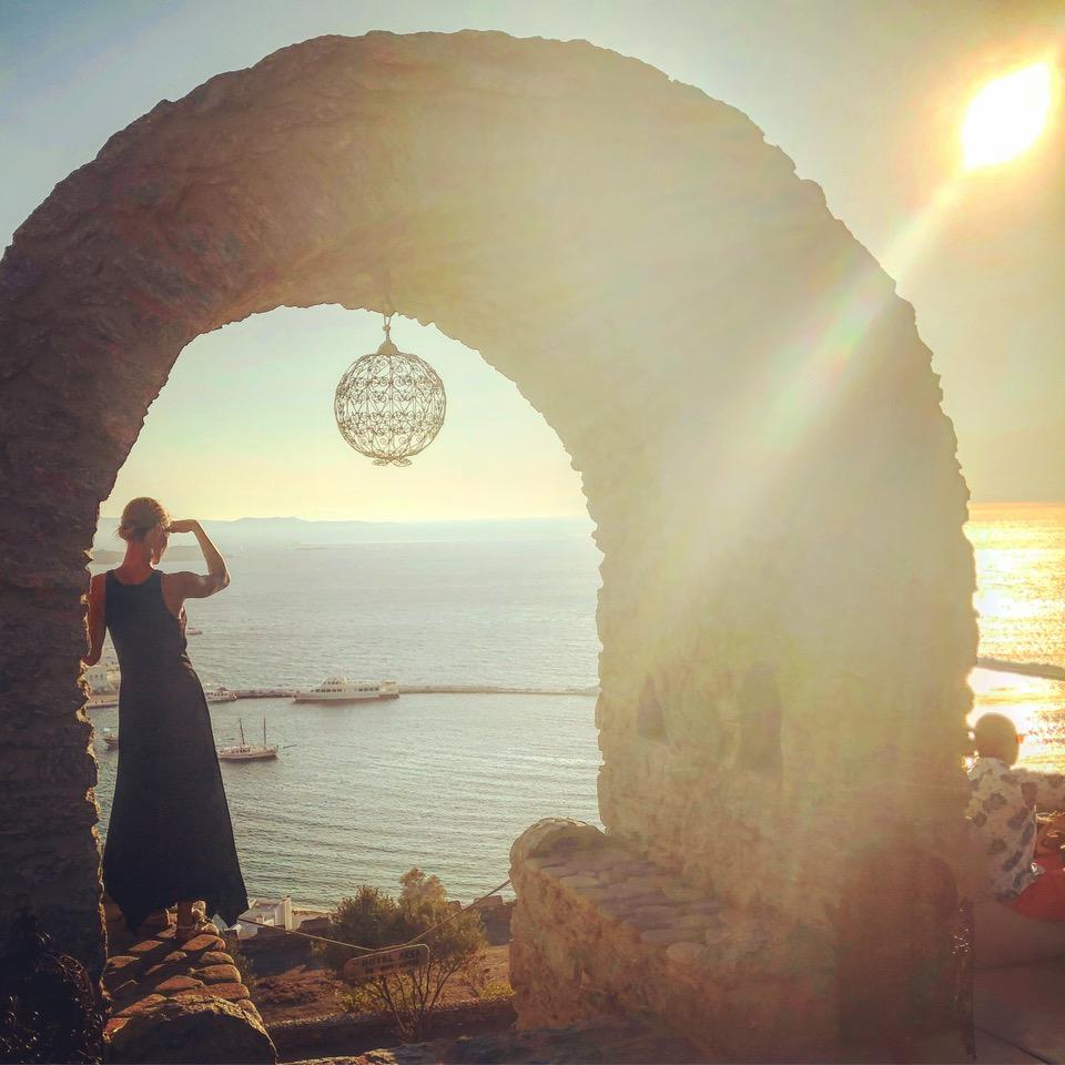 Mykonos guide sunset