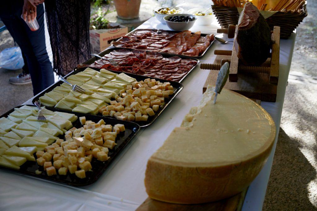 bryllup velkomstfest ost