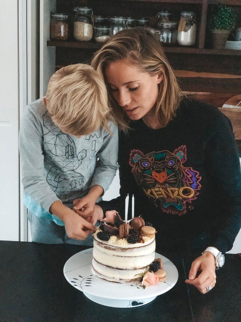 fødselsdag fødselsdagskage hjemmelavet