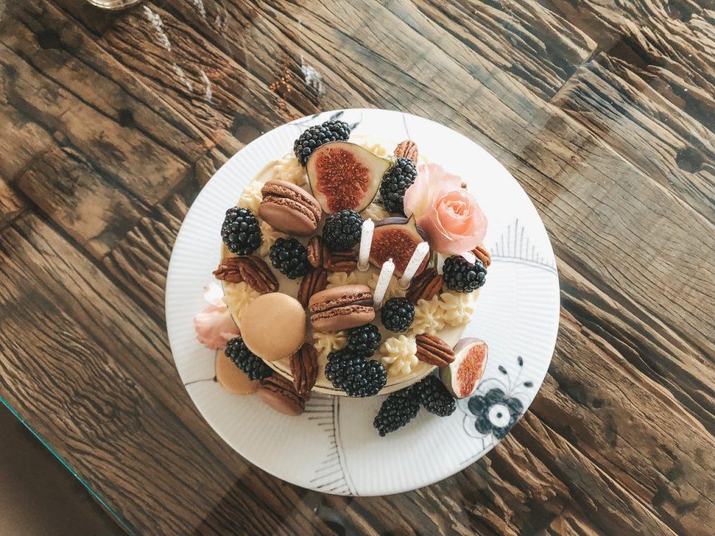 fødselsdag fødselsdagskage gulerodskage opskrift