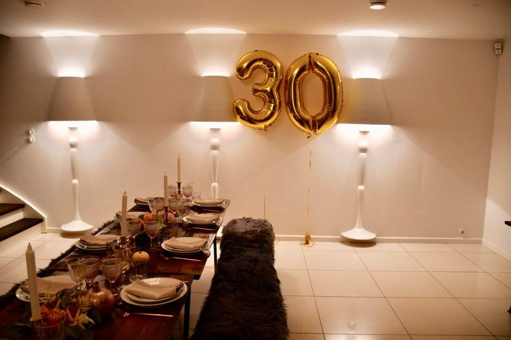 30 års fødselsdagfest