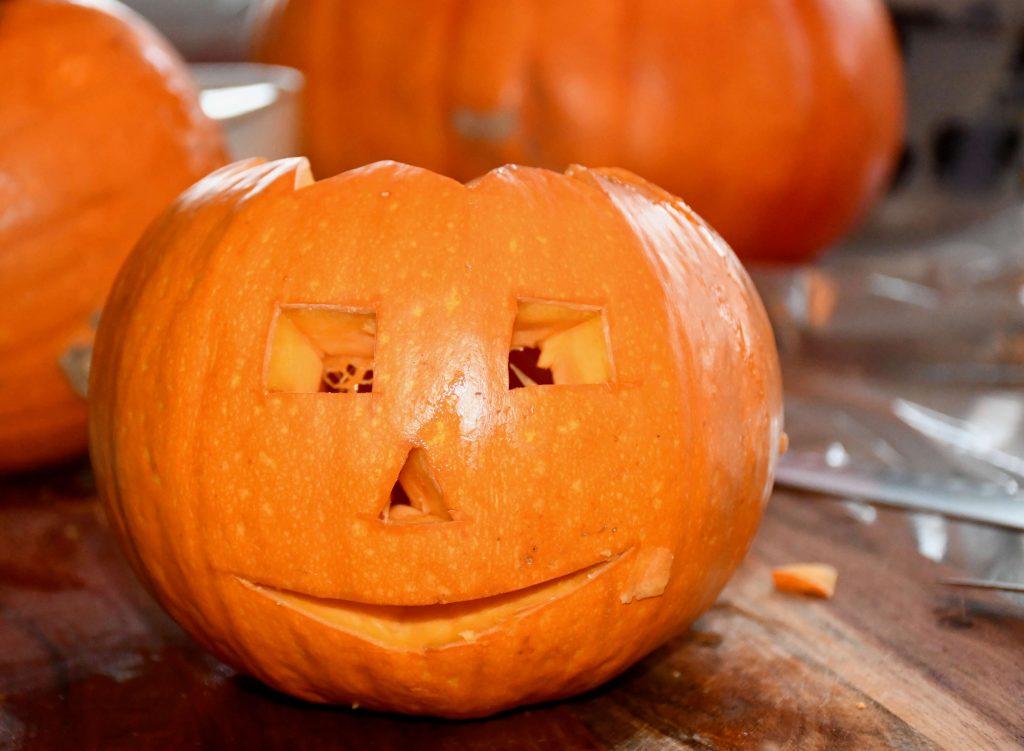 halloween græskarmand