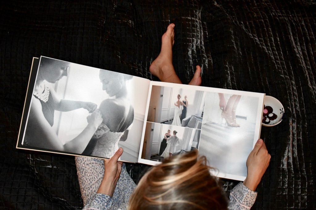 bryllup fotobog billeder minder
