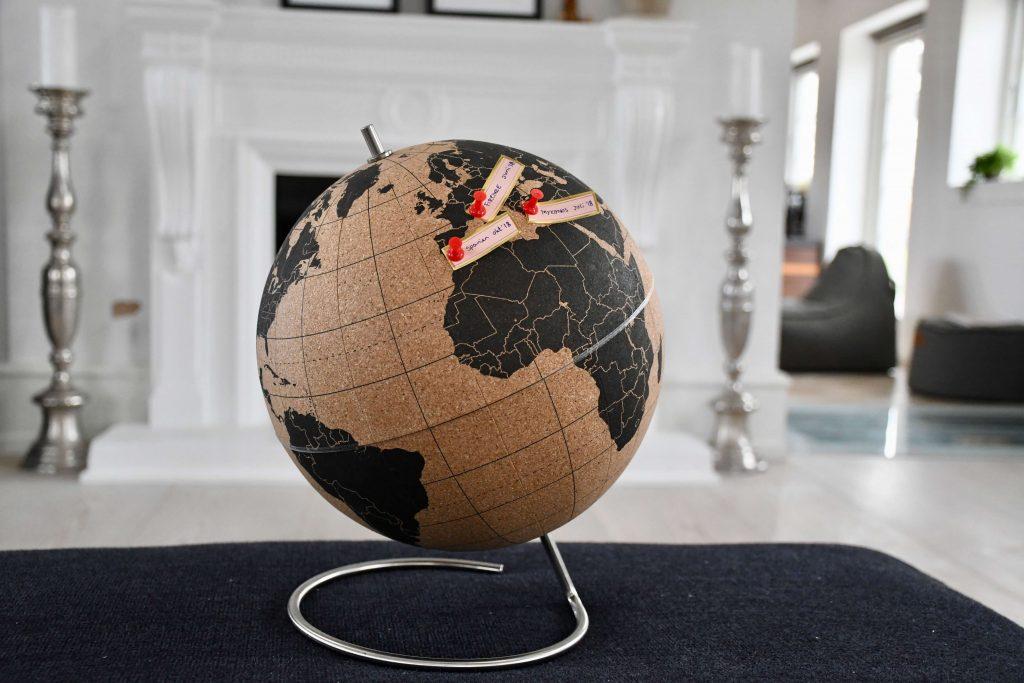 rejseminder globus verdenskort 4