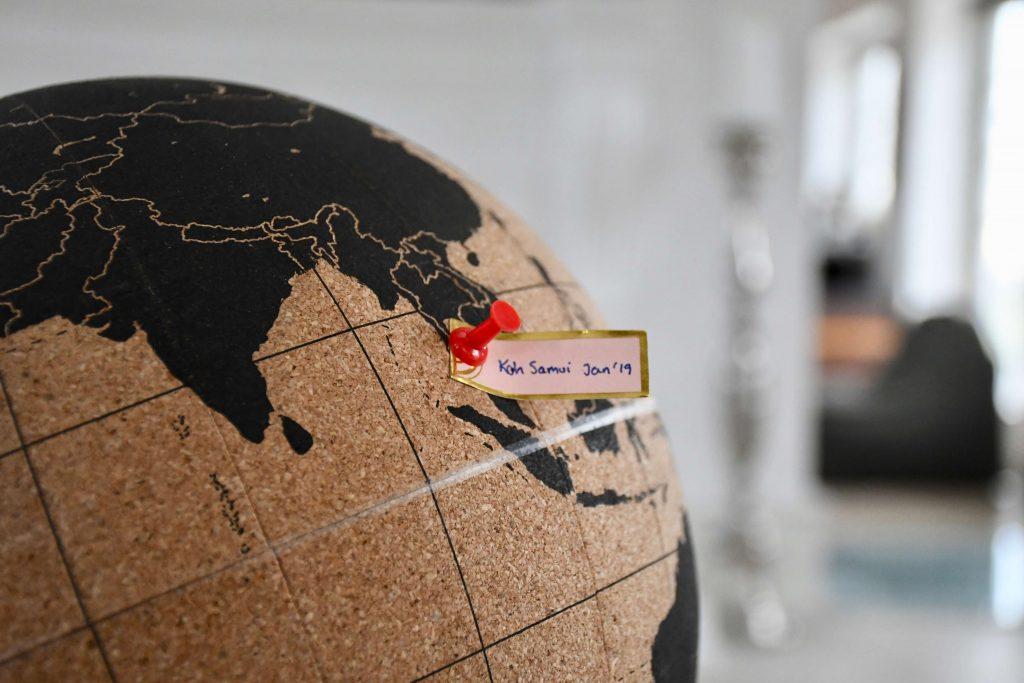 rejseminder globus verdenskort 3