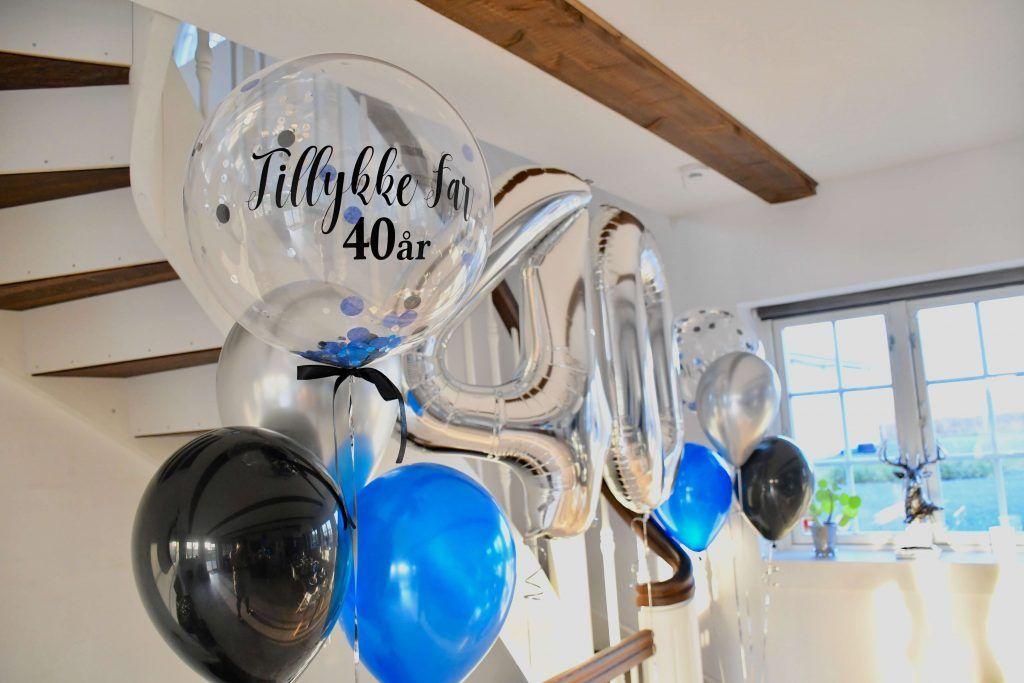 40 år fødselsdag balloner 3