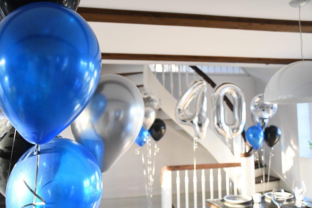 40 år fødselsdag balloner 4