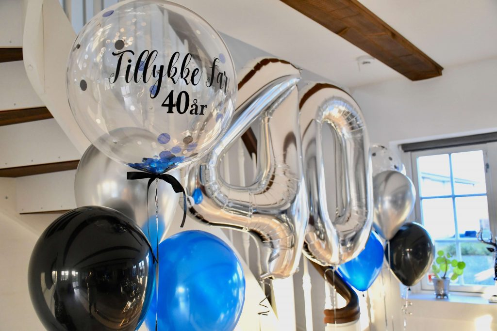 40 år fødselsdag balloner 2
