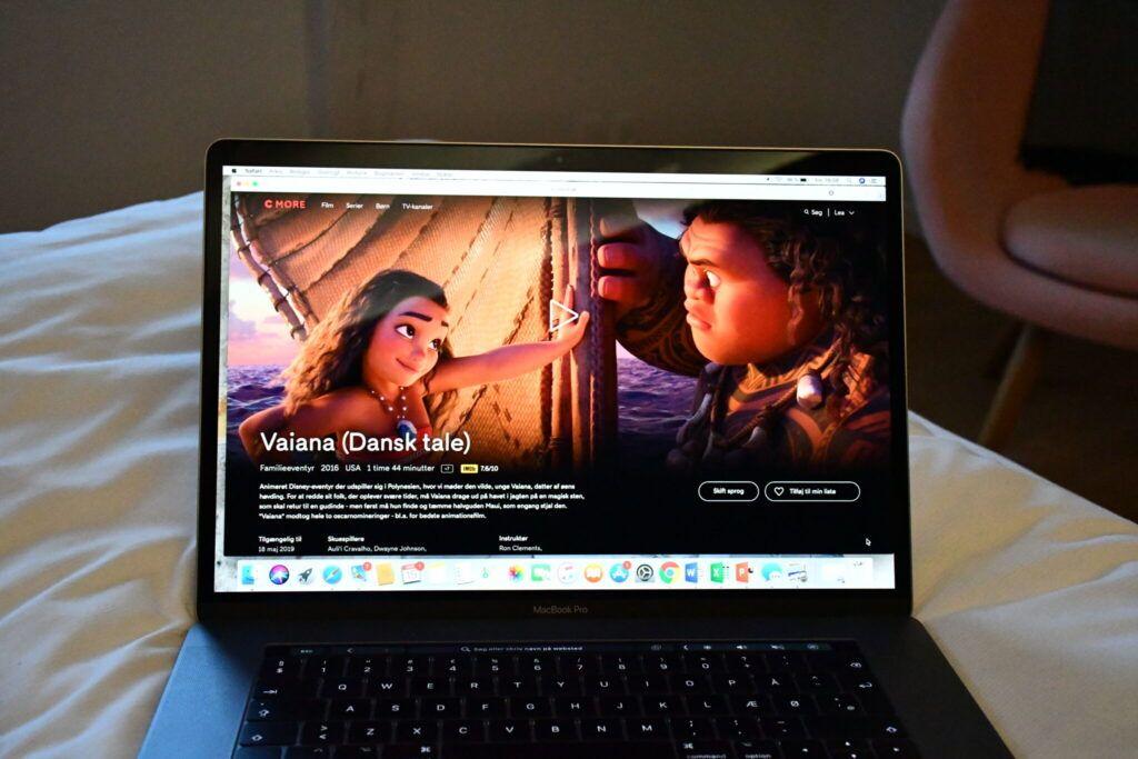 c more film serier vaiana