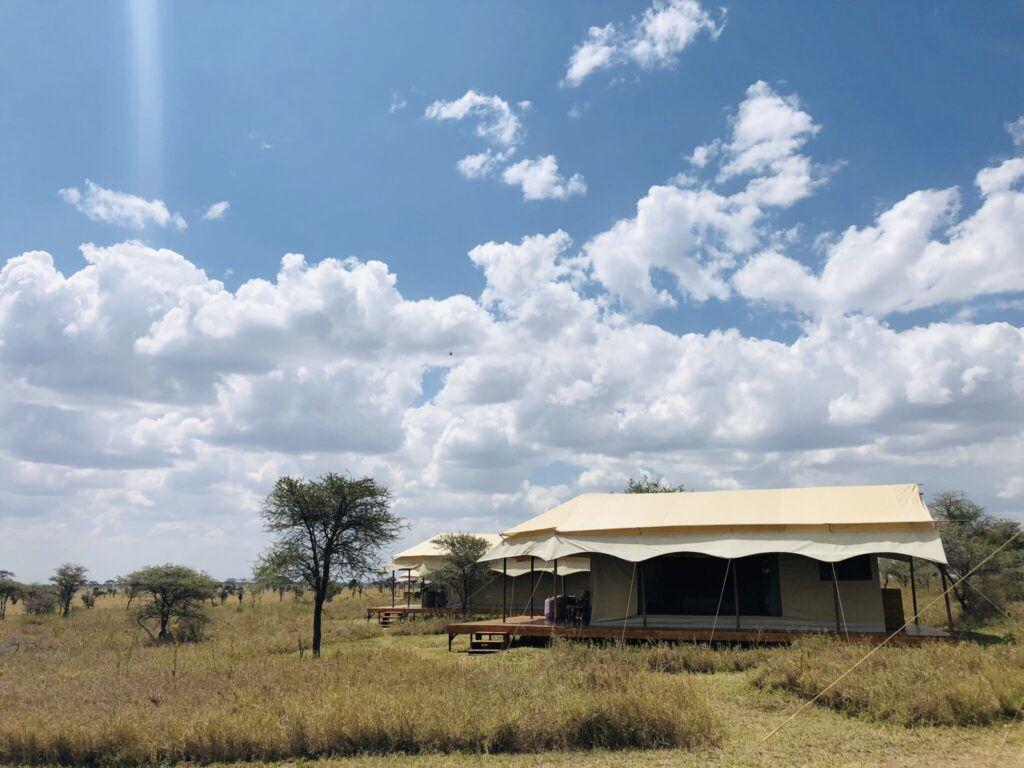 Afrika Tanzania teltlejr