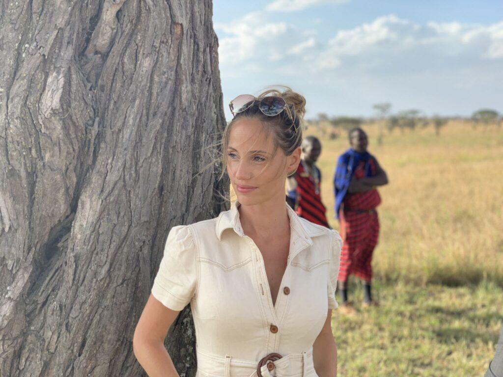 Afrika teltlejr tanzania masai