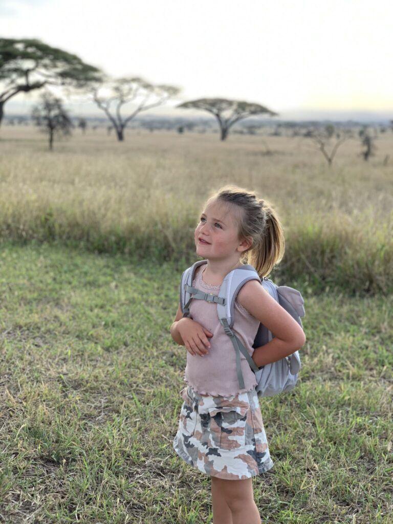 Afrika teltlejr tanzania eventyr