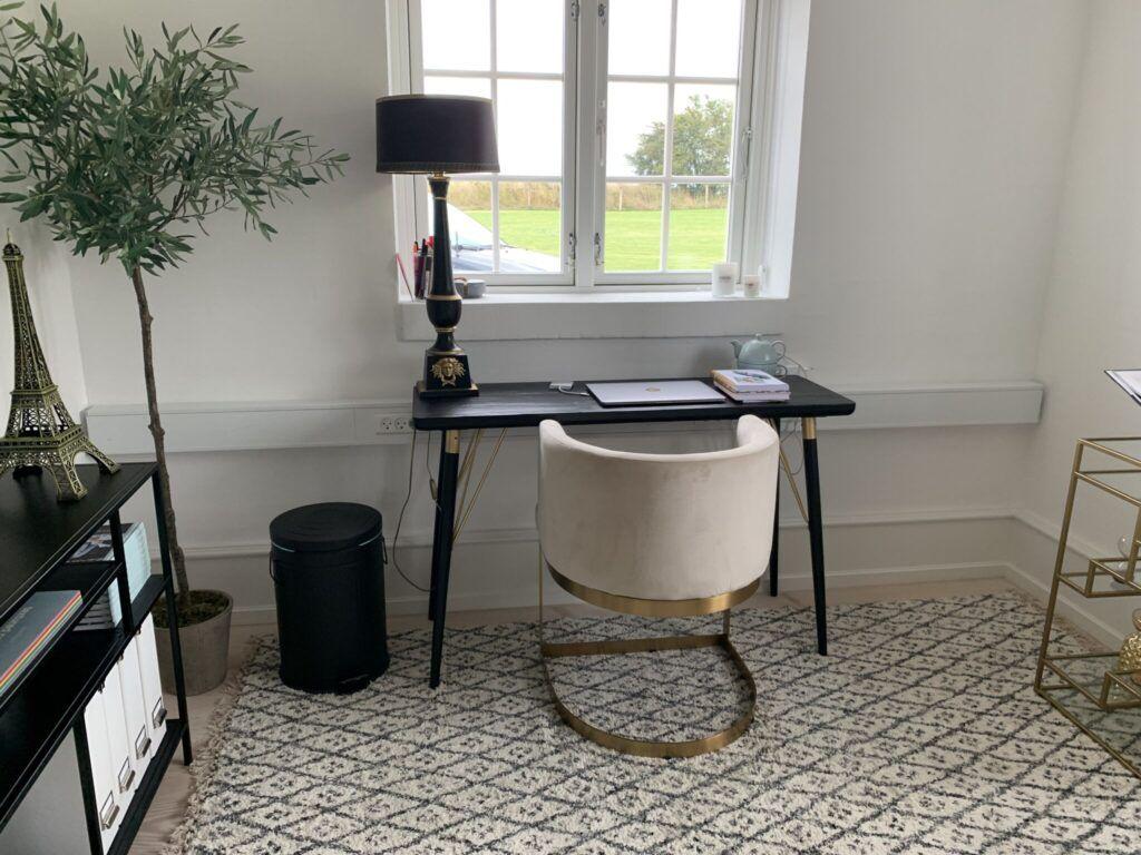 hjemmekontor, nordal, skrivebord