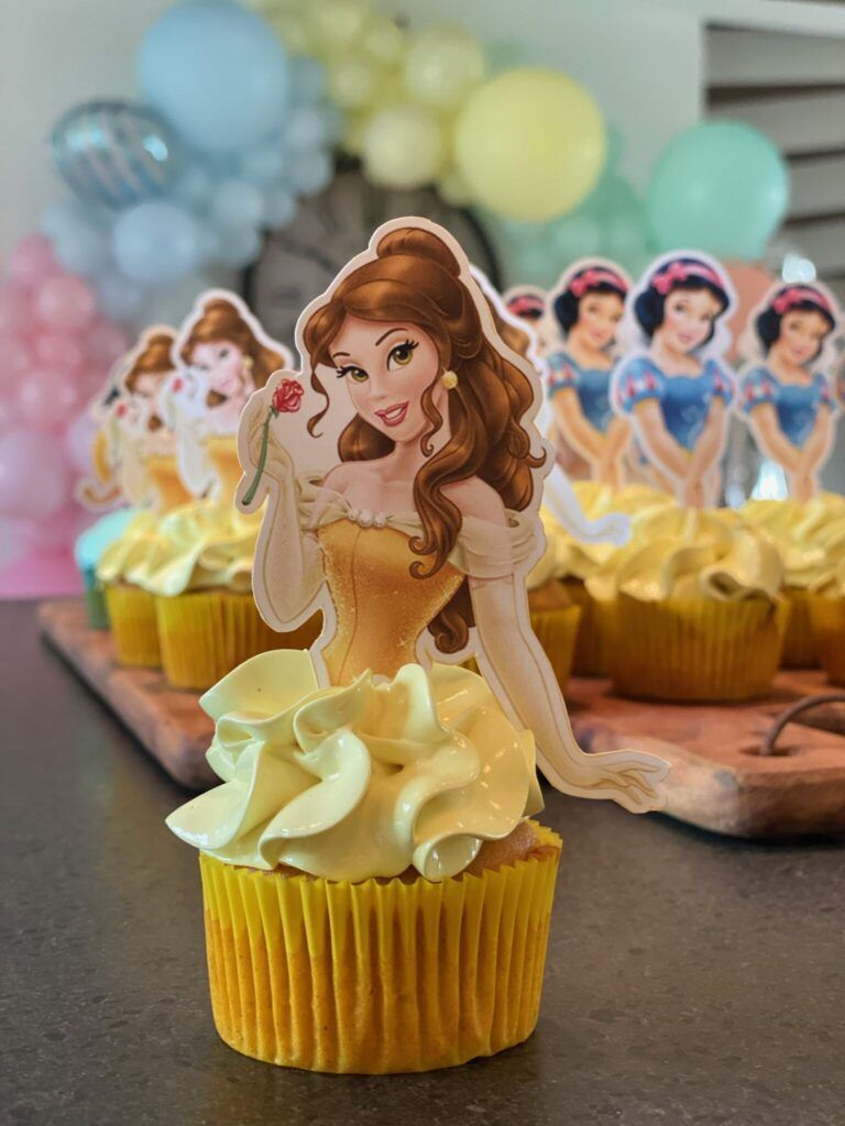 prinsesse cupcakes
