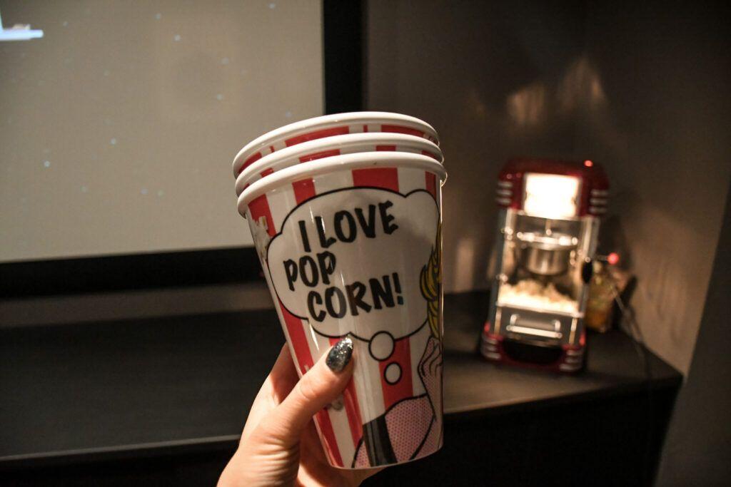 movienight, filmaften, popcorn, karamelliseret popcorn 1