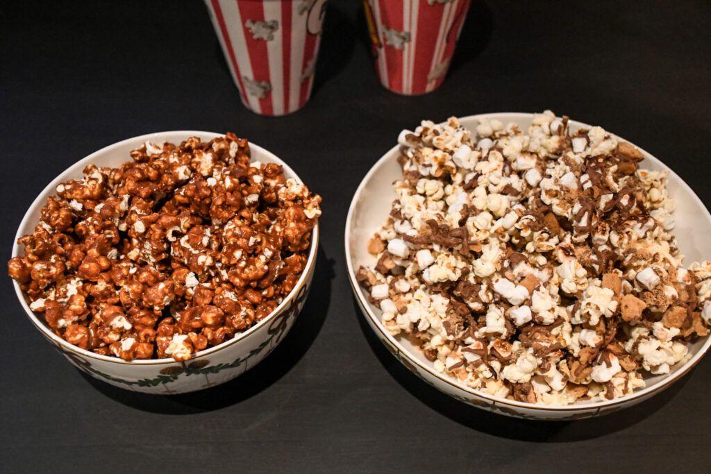 movienight, filmaften, popcorn, karamelliseret popcorn