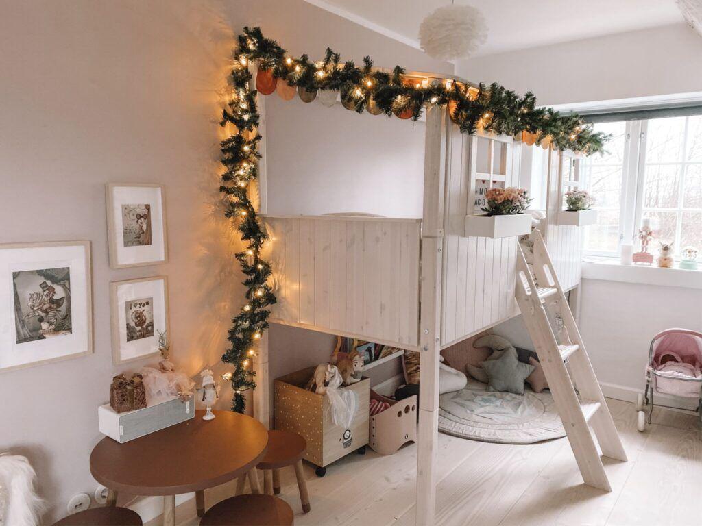 jul pigeværelse prinsesse børneværelse
